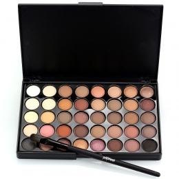 Popfeel 40 Kolory Makijaż Oczu Matowy Glitter EyeShadow Diament Shimmer Eye Primer Luminous Cień Do Oczu Kobiety Prezent