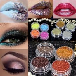 24 kolor Naturalny Glitter Eyeshadow Powder shimmer Mineralnego Pigmentu Spangle Makijaż Kosmetyki Zestaw długotrwałe