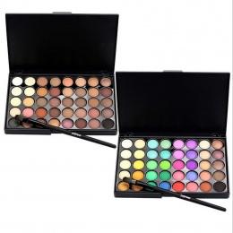 40 kolory Popfeel Makijaż Oczu Matowy Glitter EyeShadow Diament ShimmerEye Primer Luminous Cień Do Oczu Kobiety Prezent