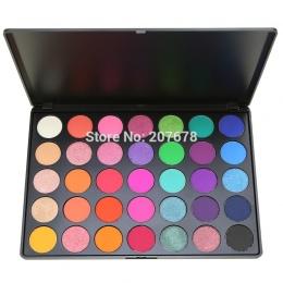 35 kolor Eyeshadow Pallete Gorgeous Silky Powder Profesjonalne Natura Make up Palette Smoky Ciepłe Matte Lśnienie Eye Shadow 35E