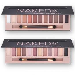 Markowe Kosmetyki Makijaż Glitter Matte Shimmer Eye Shadow Palette Makijaż 12 Kolory Nagość Eyeshadow Palette Matte Kobiety prez