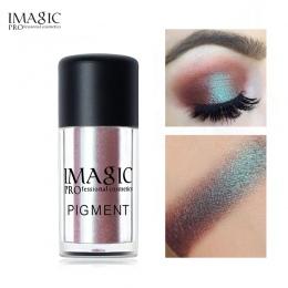 IMAGIC Pro Glitter Eyeshadow Loose Powder Shimmer Eye Shadow Nagie Pigmenty Metaliczne Musujące Makijaż Uroda Kosmetyki 9 Kolory