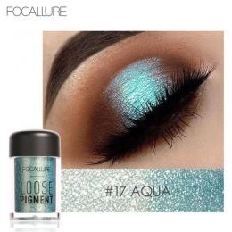 2017 Nowy Sypki Cień Do Powiek Makijaż Wodoodporny Shimmer Glitter Kryształ Oczy Pigmenty Łatwe Do Noszenia Focallure Marki Eyes