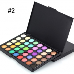 Popfeel 40 Kolory Makijaż Oczu Primer Luminous Matte EyeShadow Brokat Diament ShimmerEye Eye Shadow Prezent