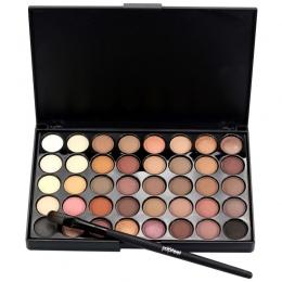 Popfeel 40 Kolory Ziemi Cień Do Oczu Makijaż Matowy Pigment Naturalny Makijaż Eye Shadow Palette Kosmetyczne