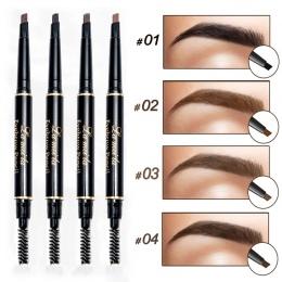 Nowy Marka Eye Brow Odcień Kosmetyki Naturalne Długotrwałe Farby Tatuaż Brwi Wodoodporna Czarny Brązowy Ołówek Do Brwi Makijaż