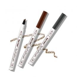 1 pc Brwi Brwi Ołówek Do Brwi Pen Kobiety Dziewczyna Wodoodporna Widelec Końcówki Brwi Tattoo Pen Brwi Ołówek Najlepiej Sprzedaj