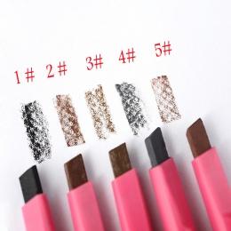 1 SZTUK HOT Kobiety Panie Wodoodporna Brązowe Brwi Eye Brow Pencil Liner Pen Proszku Shaper Makijaż Narzędzie 5 kolory Nowa Gorą