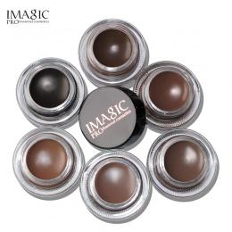 IMAGIC Nowości Profesjonalne Brwi Żel 6 Kolorów Wysokiej Brow Odcień Makijaż Brwi Brązowe Brwi Żel Z Brow Brush Narzędzia