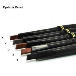 1 pc 5 Kolory Wodoodporna Bardzo Trwała makijaż Czarny Brązowy Ołówek Do Brwi Eye Brow Liniowej Profesjonalny Makijaż Makijaż Co