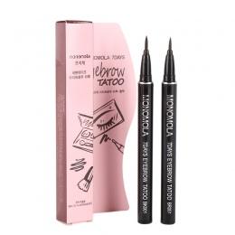 1 Pc Zawód Kobiet Makijaż Produkt Wodoodporny Brązowy 7 Dni Oczu Długotrwały Makijaż brwi Brwi Tattoo Pen Liner Kobiety Prezenty