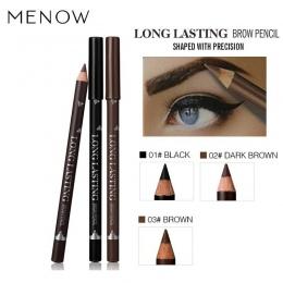 MENOW Oczy Brwi Kosmetyki Marki dla Kobiet Człowieka Pigmentu Kawy Brązowy Czarny Wodoodporny Brwi Makijaż Długotrwały Ołówki
