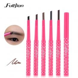 Wodoodporna Stały Proszek Pen Makijaż Brwi ołówek Proszek Koloru Kosmetyczne Czarny Brązowy Eye Brow Liniowej Shaper Brwi Makija