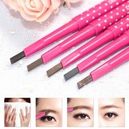 Brwi Shadow Pencil Wodoodporna Natural Eye Brow Pióro Kosmetyczne Kształtowania Brwi Liner Pencil Czarny Brązowy Uroda Makijaż N