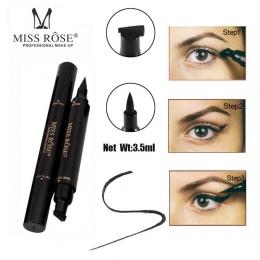 Ciecz makijaż Eyeliner Ołówek Szybkie Suche Wodoodporna Eye Liner Czarny Kolor Z Skarbowej Kosmetyczny Oko Ołówek Darmowa Wysyłk