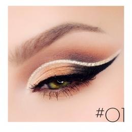 Eye Liner Waterproof Ołówek Długopis Cieczy Eyeliner Glitter Eye Pencil Shimmer Diamentowe Pigment Makijaż Ciecz Eyeliners