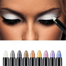 1 PC Tworzą Wyróżnienia Brokat Eyeshadow Pencil Cień do Oczu Eyeliner Pen Natural Długi Lasting Eye Shadow Pencil Eye Liner piór