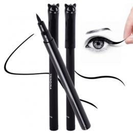 1 Pc NOWY Makijaż Czarny Kot Styl Wodoodporny Eyeliner W Płynie Kosmetyki Eye Liner Pencil Pióro Makijaż Narzędzia Kosmetyczne