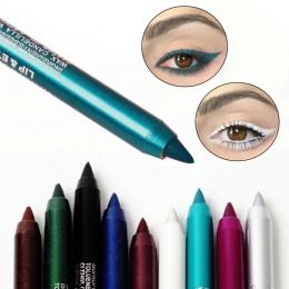 1 PC Kobiety Moda długotrwała Eye Liner Pencil Pigment Biały Kolor Wodoodporny Eyeliner Pen Oczu Kosmetyki Makijaż Narzędzia M1l