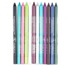 1 Sztuk 12 Kolory Wodoodporna długotrwała Eye Liner Pencil Pigment Biały Niebieski Kolor Oczu Eyeliner Pen Kosmetyki Do Makijażu