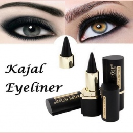 PANIENKO WZROSŁA Wateroroof Makeup Eyes Ołówek Longwear Czarny Gel Eye Liner Sticker Eyeliner Makijaż EyeLiner lapis de olho del