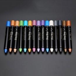 1 pc Nowy Kobiety Uroda Wyróżnienia Brokat Eyeshadow Pencil Kosmetyczne Cień do Oczu Eyeliner Pen M2