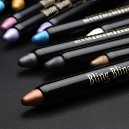 Nowy Hot 1 pc Piękno Wyróżnienia Eyeshadow Pencil Kosmetyczne Glitter Cień do Oczu Eyeliner Pen