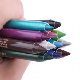 2 Sztuk Bardzo Trwała Pigment Eye Liner Pencil Wodoodporna Biały Kolor Eyeliner Makijaż Narzędzia Kosmetyczne