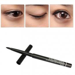 1 sztuka Wodoodporna Obrotowy Gel Cream Eye Liner Czarny Eyeliner Pen Makijaż Kosmetyki makijaż