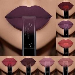 PUDAIER Kobiety Uroda Lip Makeup Sexy Długotrwałe Wodoodporny Matowy Nago Błyszczyk Cieczy Szminka Kosmetycznych Matka PREZENT