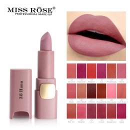 PANIENKO WZROSŁA Brand New Nawilżający 18 Kolory Matowe Szminki Sexy Czerwone Usta Nago Szminki Matowy Kosmetyki Makeup Lip Stic