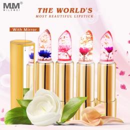 Milemei Galaretki Szminka Magia Kolorów Zmiana Temperatury 100% Oryginalny Piękne Jelly Kwiat Lipstick Matte Batom 2018 Hotselli