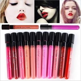 Marka Makeup Matte Lipstick Odcień płyn Szminki Aksamit Menow makijaż Wodoodporny Długotrwały Błyszczyk Sexy Kosmetyczne
