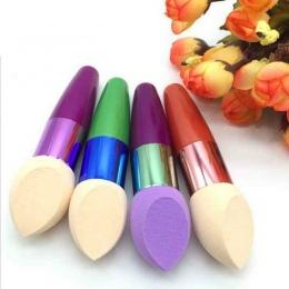 Jajko Nowy Makijaż Gąbka Mieszanie Fundacja Kosmetyczne Puff Flawless Powder Smooth Uroda Kolor losowo