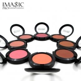 IMAGIC Makijaż Policzków Blush Powder 8 Kolorów różu inny kolor Proszku wciśnięty Fundacja Twarzy Makijaż Różu