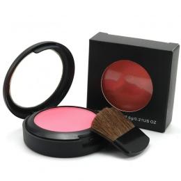 Marka Makijaż Policzków Blush Powder 6 Kolor Róż Do Policzków Powder Wciśnięty Fundacja Twarzy Makijaż Różu Z Pędzla Twarzy Różu