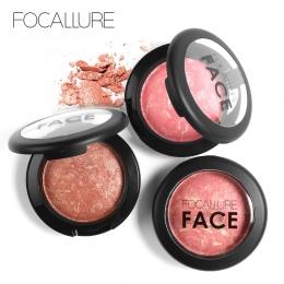 Focallure Naturalne Pieczone Twarzy Wciśnięty Rumieniec Rouge Makijaż Policzek Różu Palety Mineralnej Różu Palette Krem Rumienie