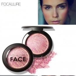 FOCALLURE Make Up Rumieńcami Twarzy Bronzer Rumieńcami Proszku Kosmetyki Naturalne Bazy Makijaż Wyróżnienia Twarzy Contour Blush