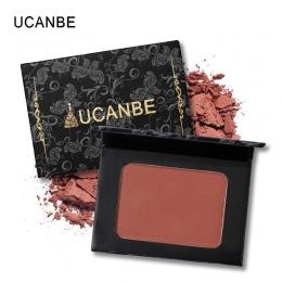 UCANBE Marka 5 Style Pojedyncze Mineralne Cheek Blush Paleta Do Makijażu Twarzy Kosmetyki Nago Naturalny Róż Do Policzków Puder