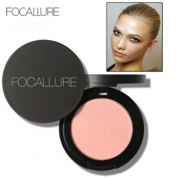 FOCALLURE Makijaż Face Powder Blush Podwójnego Zastosowania Twarzy Kolor Rumieniec Proszku Policzek Kolor Brozer Comestics Blush