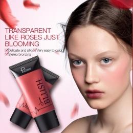 Nowy Makijaż Rumienić Ciecz Kobiety Moda Różowy Dekoracji Różu Kij Matowy Nago Makijaż Naprawy Rumieniec Rouge Produkty Kosmetyc