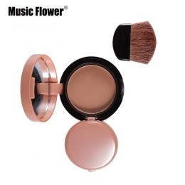 6 Kolory Róż do Policzków Twarzy Piękne Palette Makeup Blush Powder Profesjonalne Bronzer Czerwony Policzek Z Brush Zestawy Prze