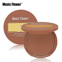 Muzyka Kwiat Makijaż Ustawić Jeden Kolor Czystego Proszku Mineralnego Cheek Blush Róż Palette Makijaż Pieczone Bronzer Gładki Ko