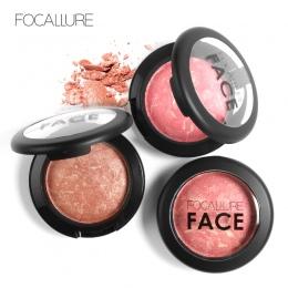 Focallure Profesjonalne Policzek 6 Kolory Makijażu Pieczone Blush Bronzer Różu Z Pędzla długotrwałe Kosmetyki Blush Palette