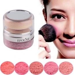 5 Kolory Naturalne Bazy Makijaż Policzków Blush Palette Face Urocze Wciśnięty Różu Palette Mineralne Rouge Pudrowy róż Przetargu