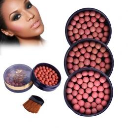 FaRRES Rumieniec Makijaż Policzków blush ball Długotrwałe Pigmenty Matowy Naturalny Twarzy Blush Ball kontrola Oleju Baza bronze