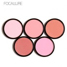 FOCALLURE 6 Kolory Róż Do Policzków Blush Makijaż Kosmetyki Naturalne Wciśnięty Refill Urocze Policzków Face Powder Palette Maki