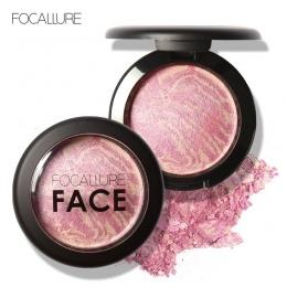 FOCALLURE Naturalne Twarzy Wciśnięty Rumieniec Makijaż Pieczone Blush Palette Pieczone Policzek Kolory Kosmetyczne Twarzy Cień N