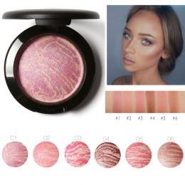 Focallure Najwyższej Jakości Profesjonalny Policzków Blush 6 Kolory Primer Makijaż Pieczone Blush Bronzer Różu Z Pędzla drop shi
