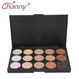 Concealer Palette Makeup 15 Kolorów Palety Matte Konturowe Fundacja Krem Baza Zestaw Kosmetyczny Kontur Twarzy Twarzy Kosmetyczn